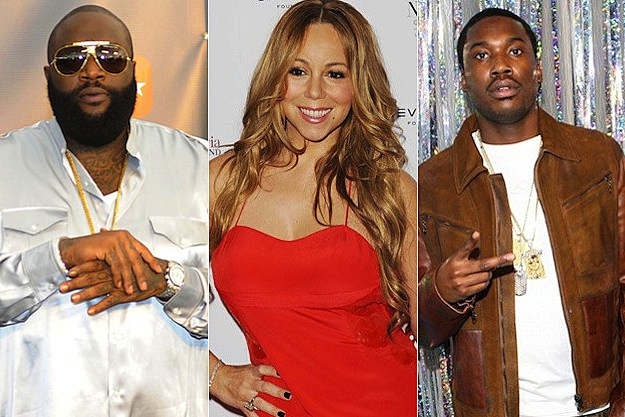 Rick Ross Mariah Carey Meek Mill