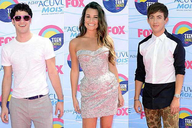 Darren Criss, Lea Michele, Kevin McHale