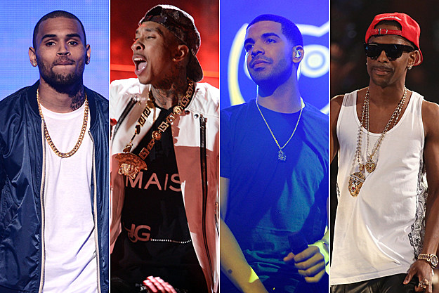 Chris Brown Tyga Drake Big Sean