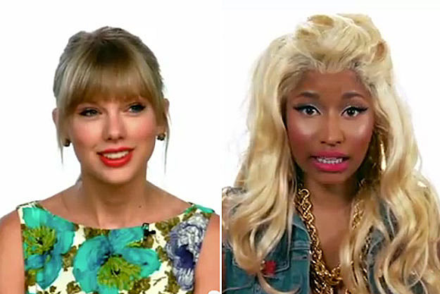 Taylor Swift, Nicki Minaj 'Ellen'