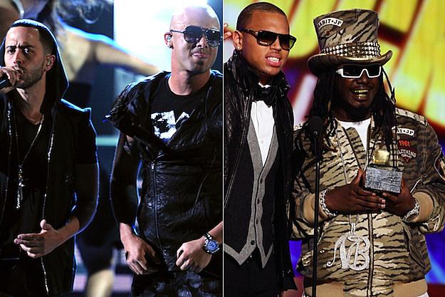 Wisin & Yandel Chris Brown T-Pain