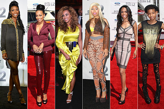 Brandy Monica Beyonce NIcki Minaj Michelle Williams Willow Smith