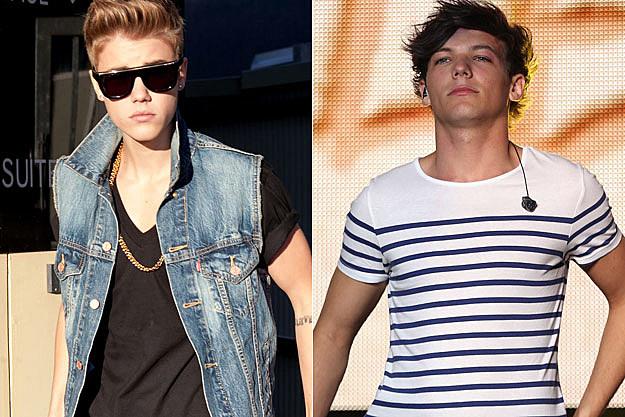 Justin Bieber Louis Tomlinson