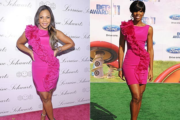 Ashanti and Kelly Rowland