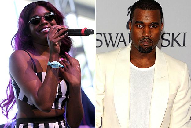 Azealia Banks Kanye West