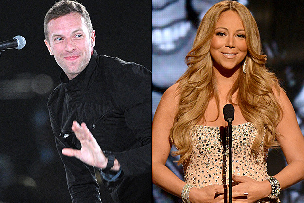 Chris Martin Mariah Carey