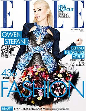 Gwen Stefani ELLE UK Cover