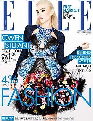 Gwen Stefani ELLE UK Cover