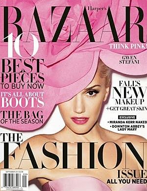 Gwen Stefani Harpers Bazaar Cover