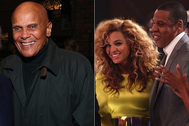Harry Belafonte Beyonce Jay-Z