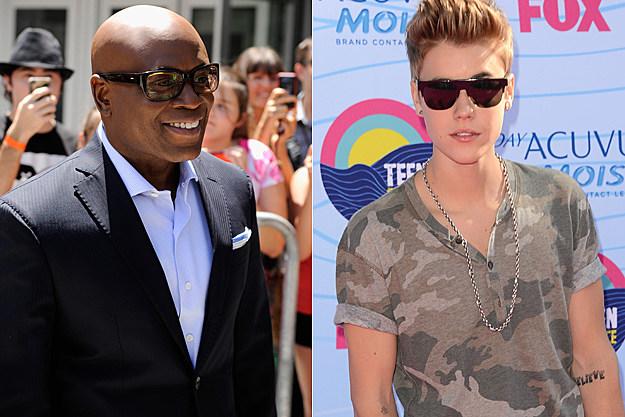 L.A. Reid Justin Bieber