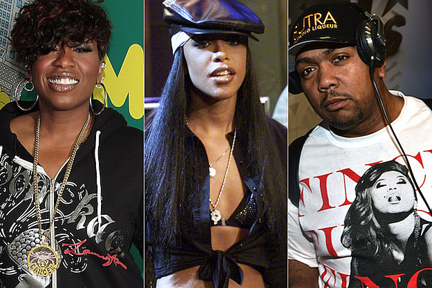 Missy Elliott Aaliyah Timbaland