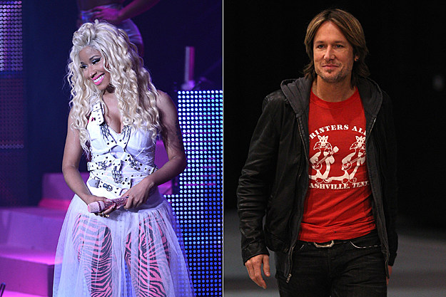 Nicki Minaj Keith Urban