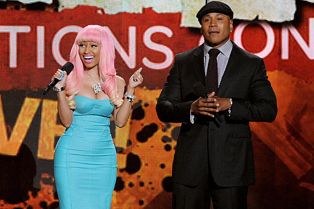 Nicki Minaj LL Cool J