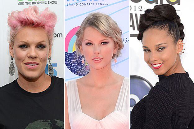Pink Taylor Swift Alicia Keys