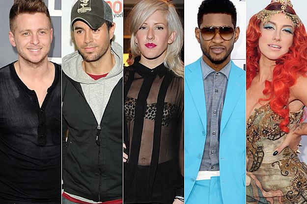 Ryan Tedder Enrique Iglesias Ellie Goulding Usher Neon Hitch