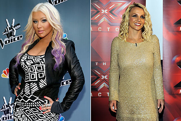 Christina Aguilera, Britney Spears