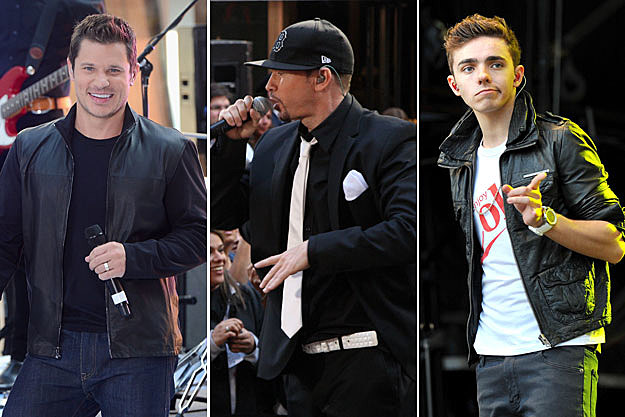 Nick Lachey, Donnie Wahlberg, Nathan Sykes