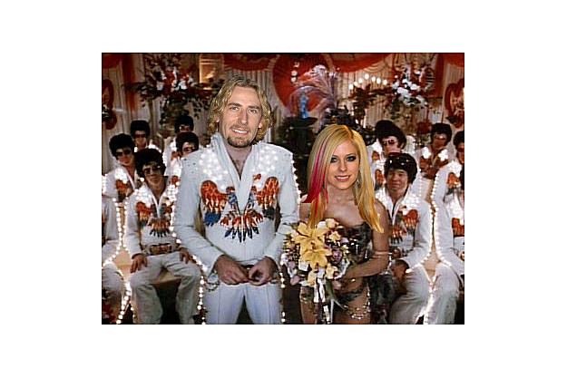 Chad Kroeger Avril Lavigne Honeymoon in Vegas