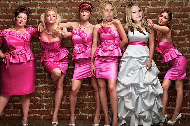 Chad Kroeger Avril Lavigne Bridesmaids
