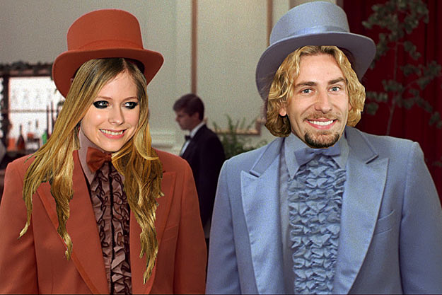 Avril Lavigne Chad Kroeger Dumb and Dumber