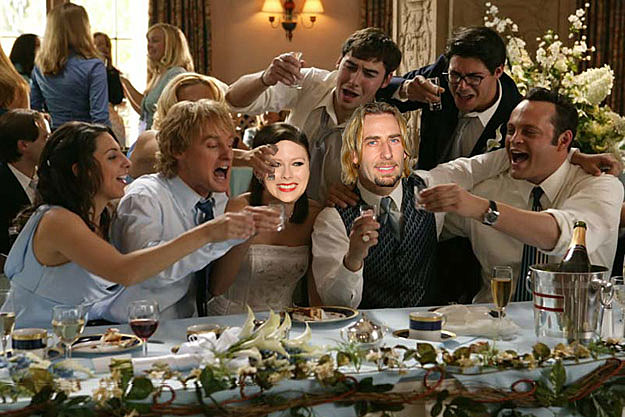 Avril Lavigne Chad Kroeger Wedding Crashers