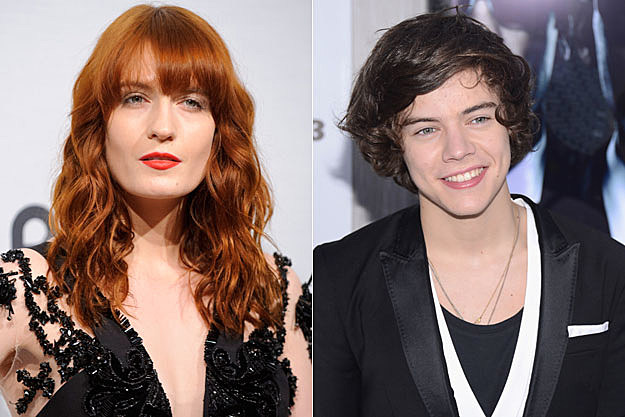 Florence Welch, Harry Styles