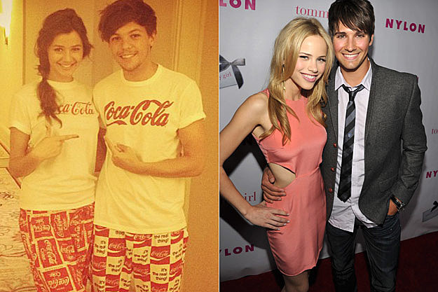 Louis Tomlinson Eleanor Caldor James Maslow Halston Sage