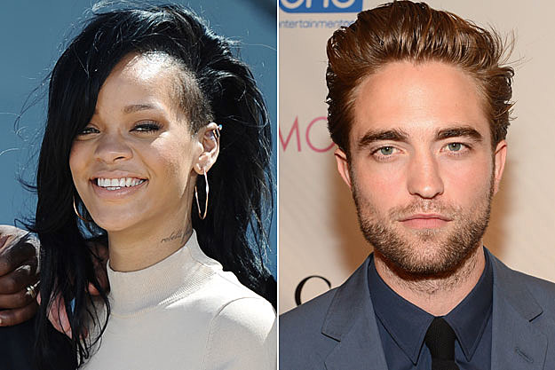 Rihanna, Rob Pattinson