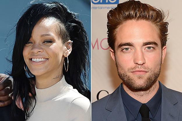 Rihanna, Rob Pattinson