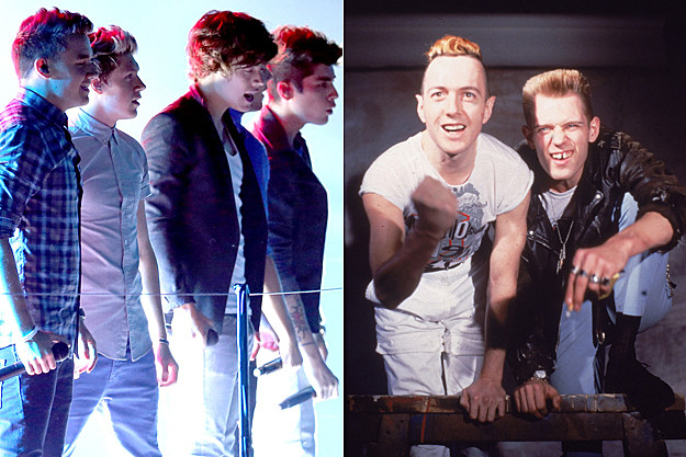 One Direction the Clash