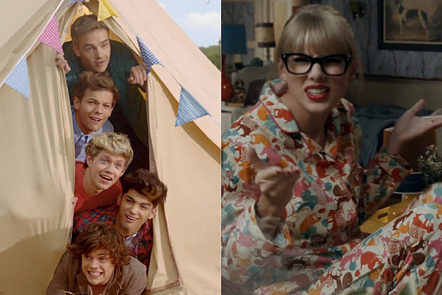 One Direction vs. Taylor Swift: Who Has the Best Music Video? – Readers Poll