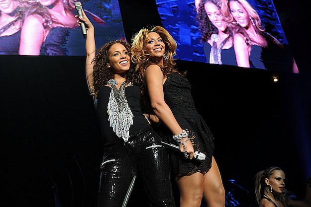 Alicia Keys Beyonce