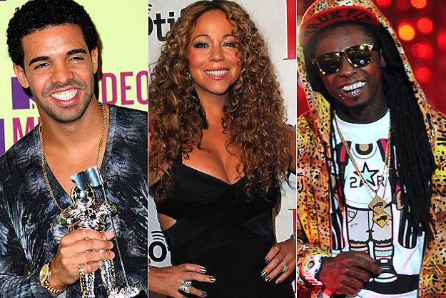 Drake Mariah Carey Lil Wayne