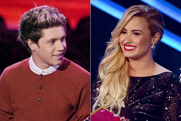 Niall Horan Demi Lovato