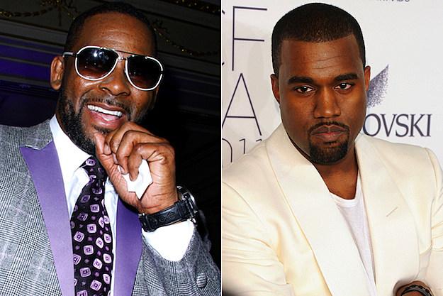 R. Kelly Kanye West