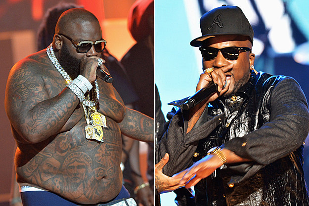 Rick Ross Young Jeezy 2012 BET Hip-Hop Awards