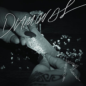 Rihanna Rolls Blunt Filled With 'Diamonds' on Single Cover
