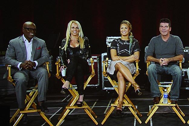 X Factor panel