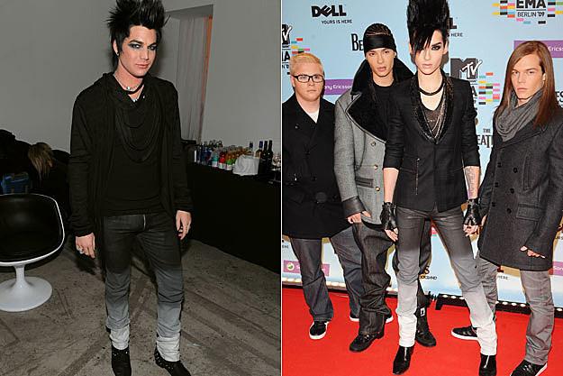 Adam Lambert Bill Kaulitz
