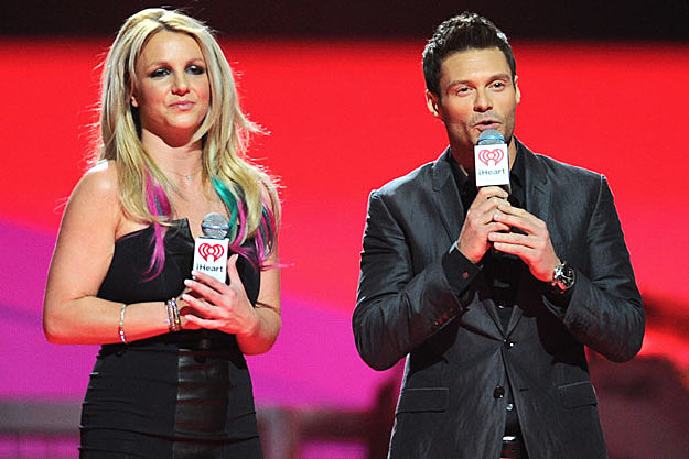 Britney Spears Has Rainbow Hair at 2012 iHeart Radio Festival
