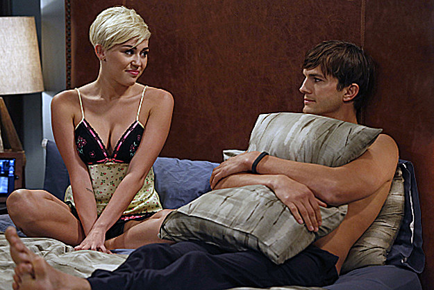 Miley Cyrus, Ashton Kutcher
