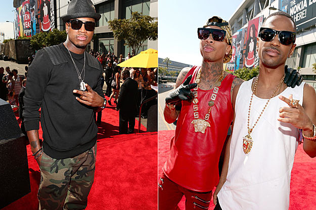 NeYo Tyga Big Sean