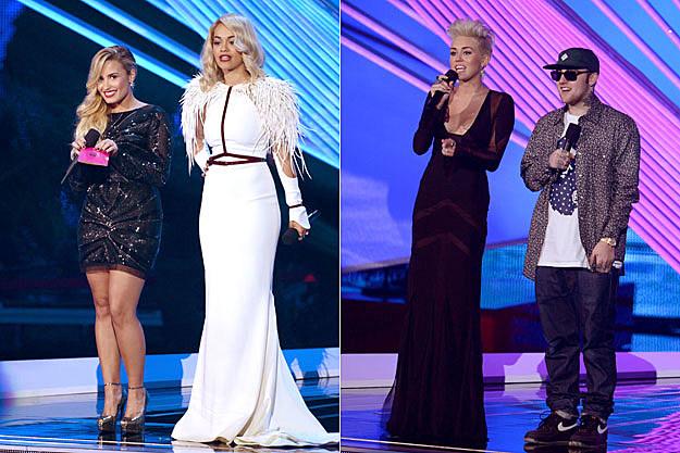Demi Lovato Rita Ora Miley Cyrus Mac Miller