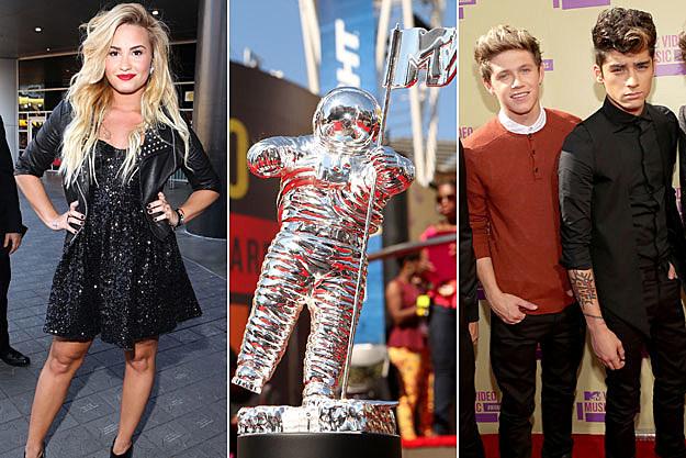 Demi Lovato VMA Niall Horan Zayn Malik
