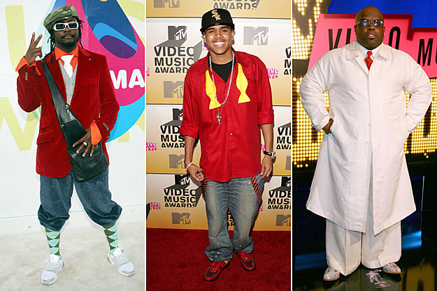william Chris Brown Cee Lo Green