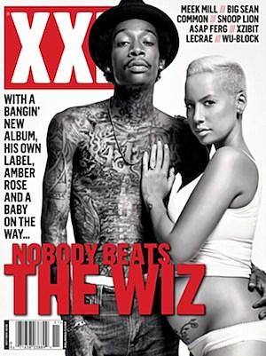 Wiz Khalifa + Amber Rose's Baby Bump Cover XXL Magazine