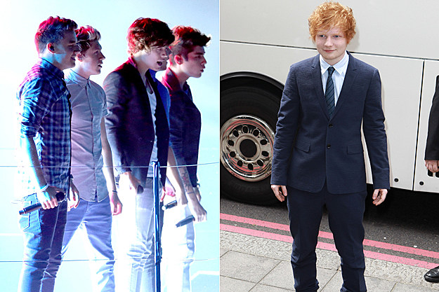 One Direction Ed Sheeran