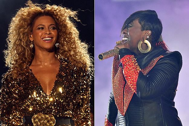Beyonce Missy Elliott