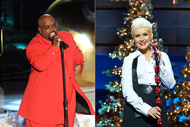 Cee Lo Green Christina Aguilera 'Baby It's Cold Outside'
